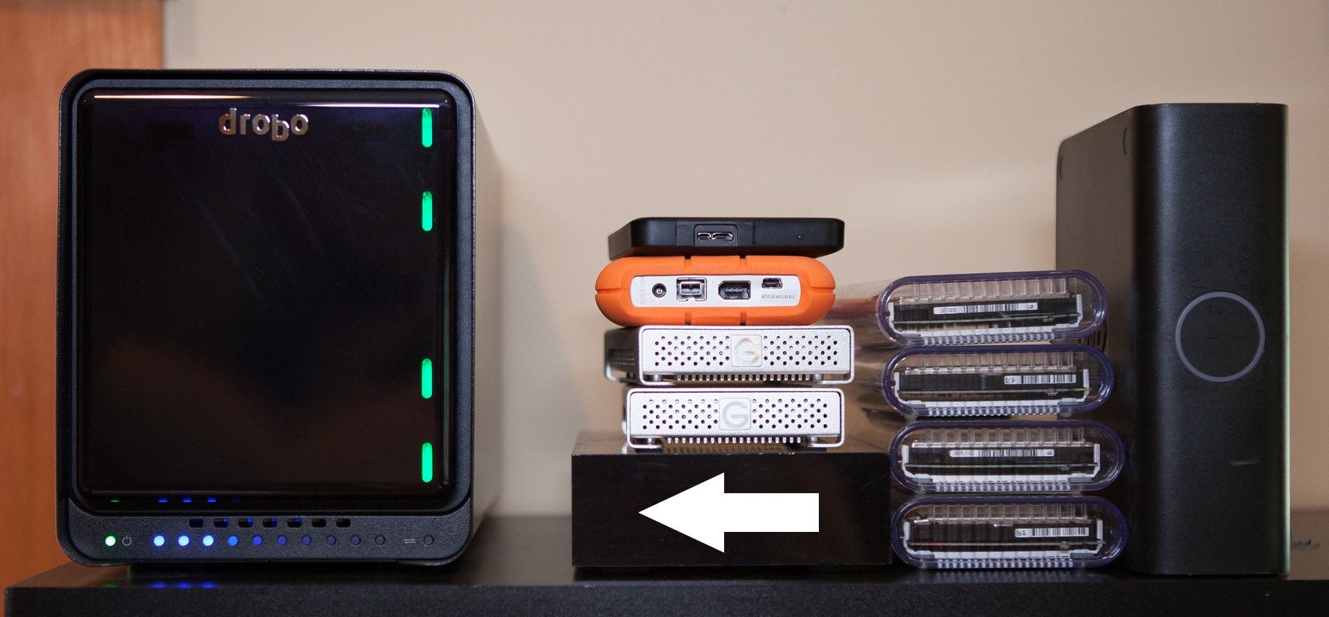 Consolidating and Organizing with the Drobo 5D | Photofocus