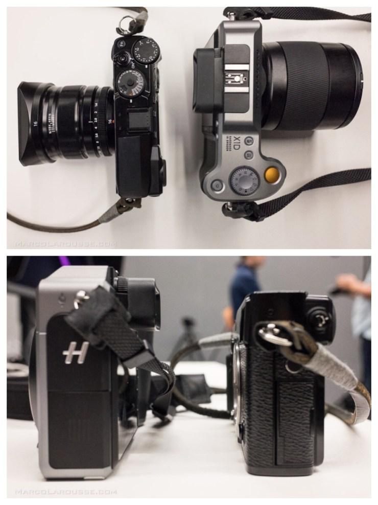 Hasselblad X1D vs Fuji X-Pro 2