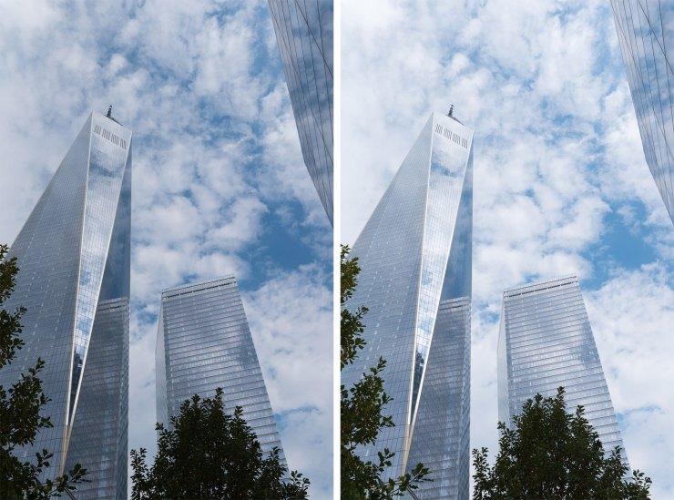 Freedom Tower Bracketing