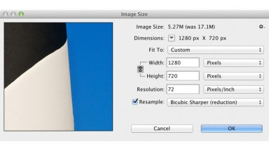 Sizing A Still Image For Video