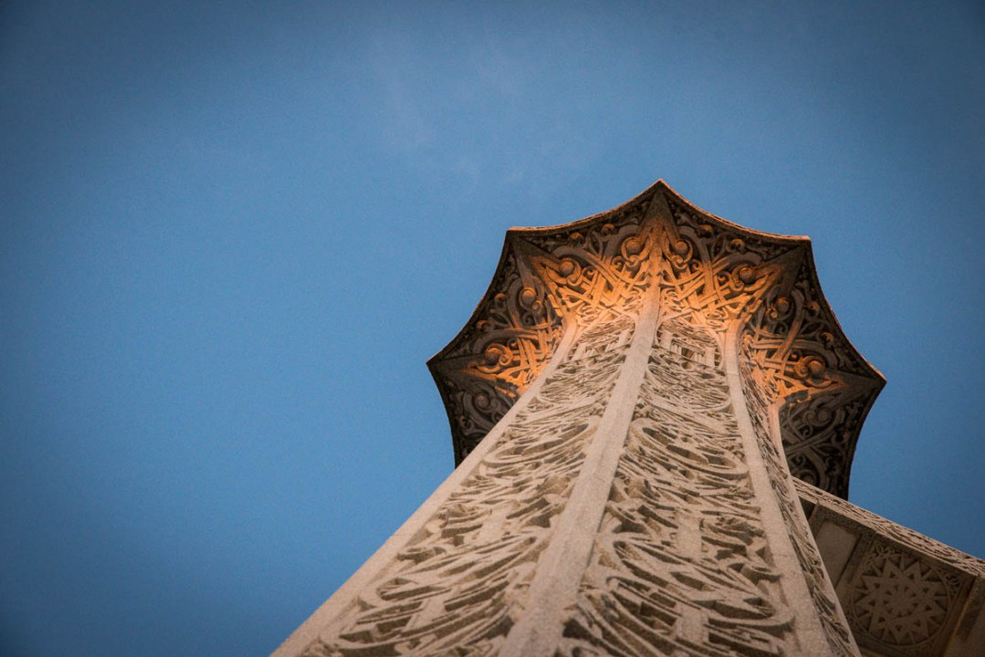 Bahá'í Temple Column