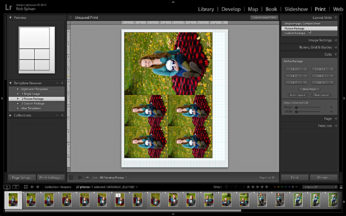 Picture Package layout style.