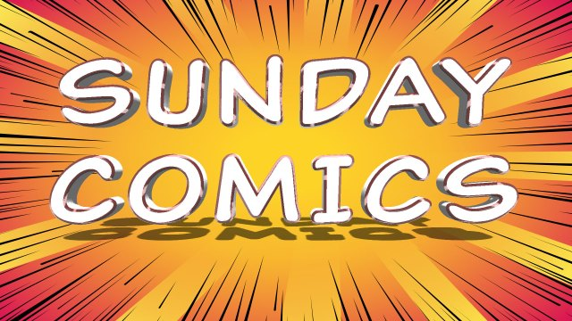 Sunday Comics: Watch Out for that Train!