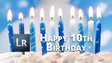 Happy Birthday Lightroom! Let's Look Back on Lightroom Version 1