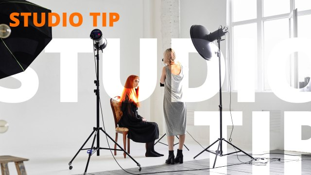 Studio Tip: Use a Platypod to Hang a Hair Light