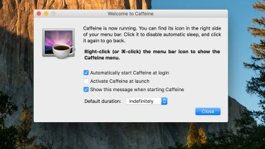 Caffeine – One of my Favorite Apps for Mac