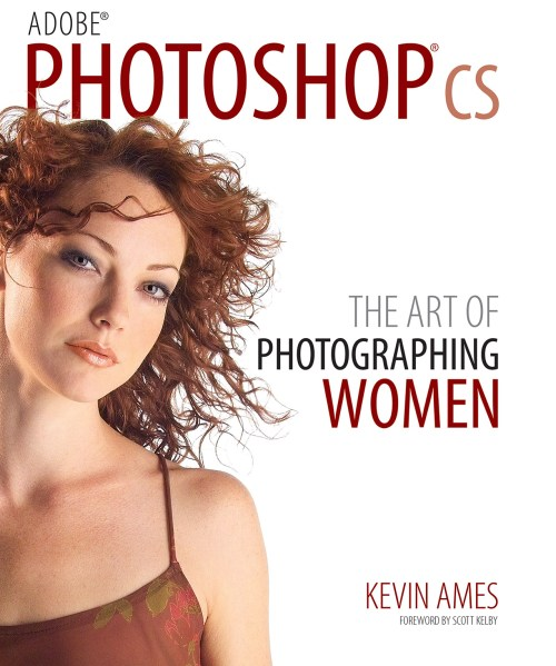 "The cover of Kevin Ames' first book ""Photoshop CS: The Art of Photographing Women"" shot with an Sigma SD-9"