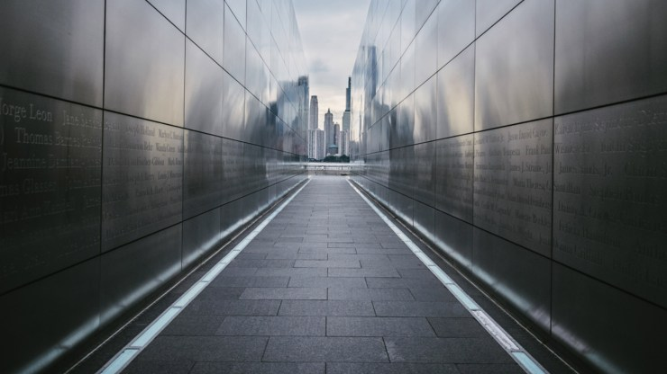 Steve Stanger View from 9/11 Memorial Photofocus Photo of the day