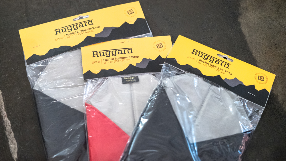 Ruggard Padded Equipment Wraps