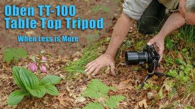 Oben TT-100 Table Top Tripod
