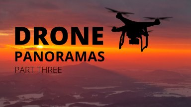 Enhancing Drone Panoramas and Removing Noise