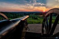Gettysburg Battlefield Sunset