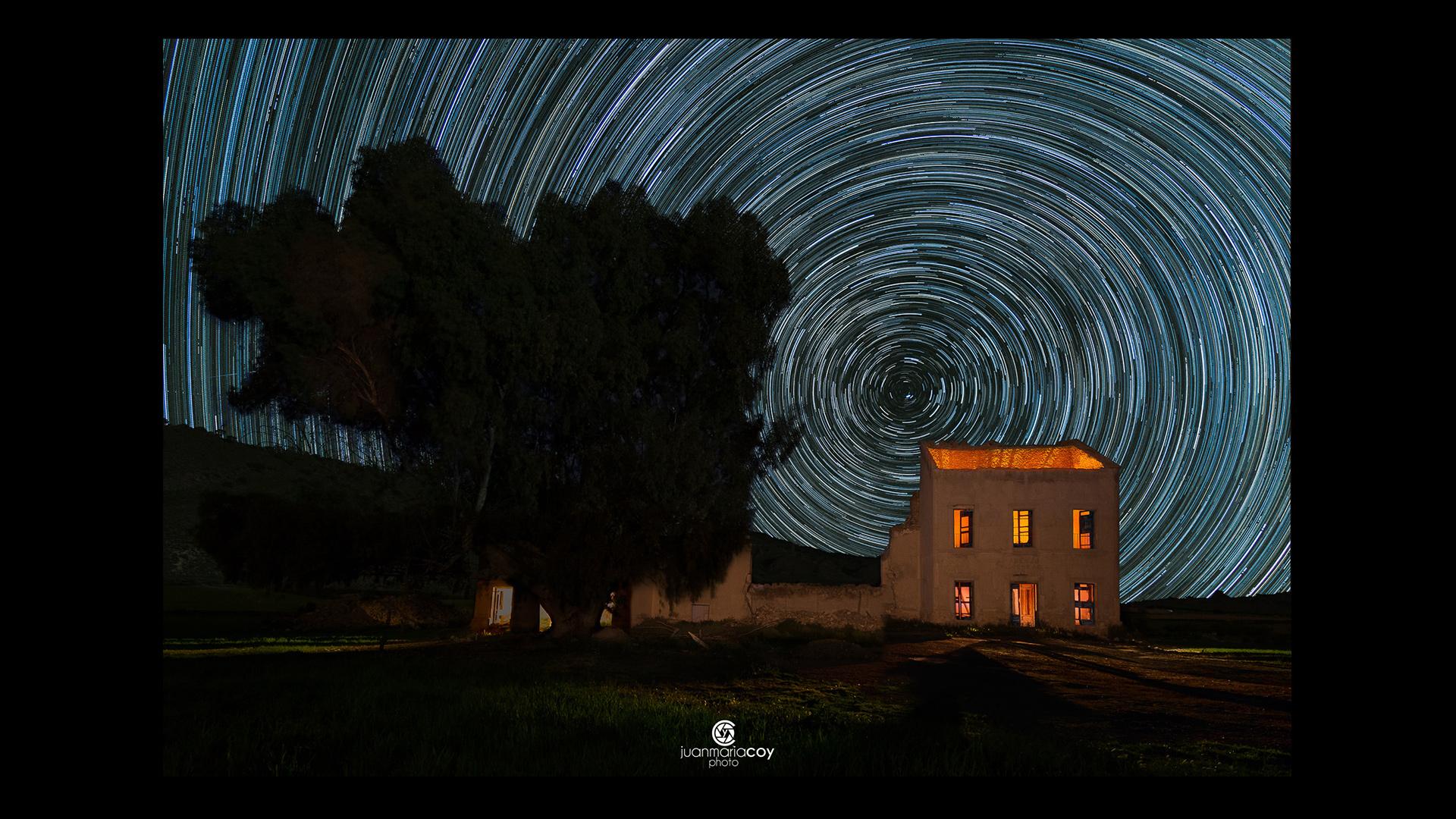 Photofocus Photographer of the Day Juan Maria Coy Star Trail Tobarra Spain