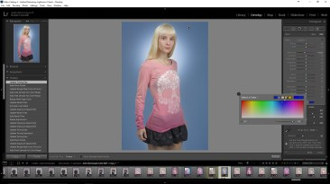 Change the color of Lightroom's Adjustment Brush