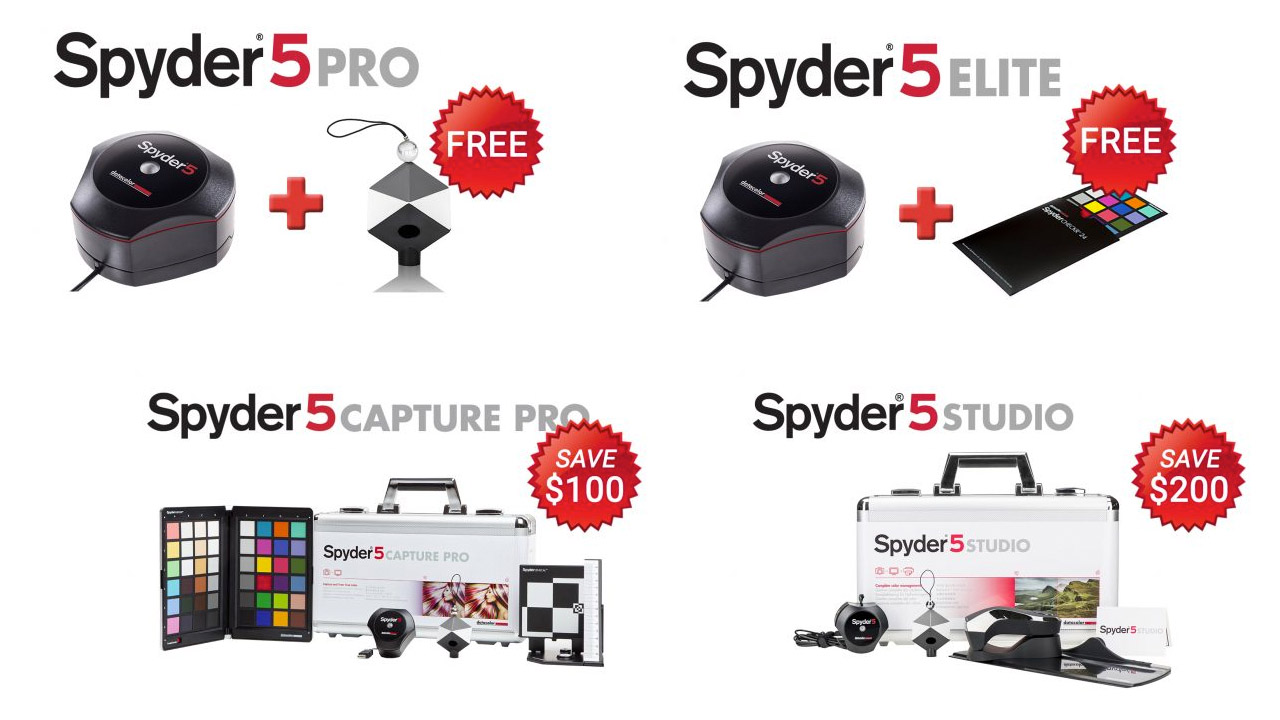 Datacolor Black Friday Specials 2017