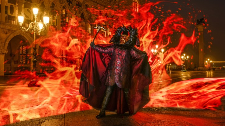 The Devil in Venice for Carnival