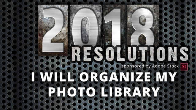 Free Webinar: I Will Organize My Photo Library: Join In Tomorrow!