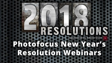 New Year's Resolution Webinar Series for Photographers & Videographers