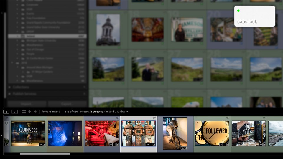 """Quick Tip: Speed Up Lightroom Classic Culling Process with """"Caps Lock"""""""