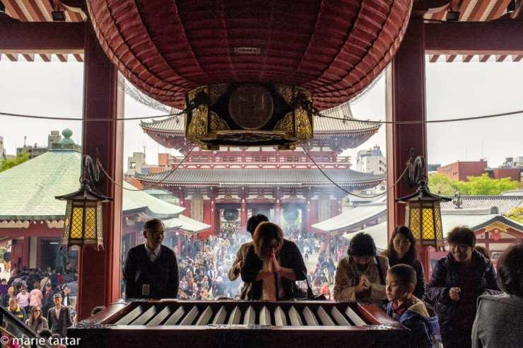 Sensō-ji Buddhist Temple in Tokyo