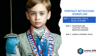 Portrait Retouch Part 1 of 3: Enhancing Eyes and Facial Features