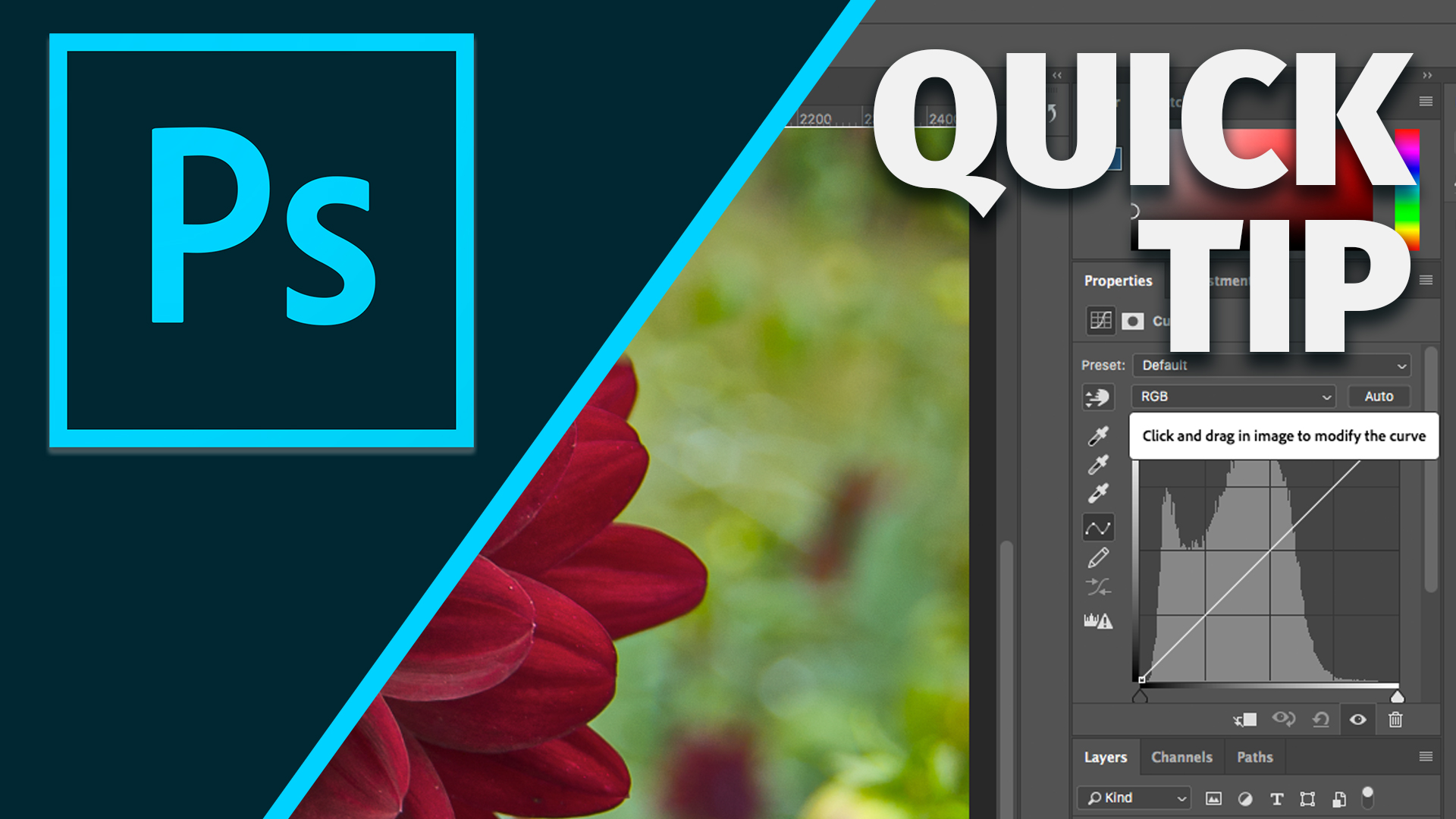 Quick Tip: Photoshop Curves Made Drop Dead Easy