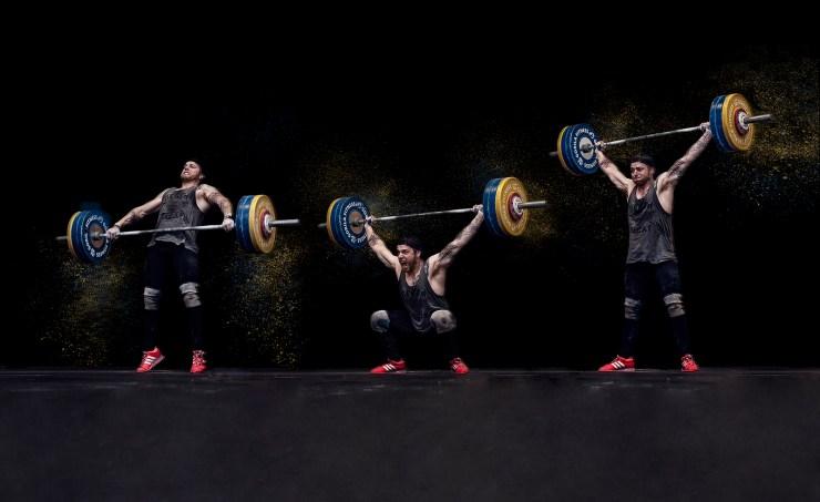 Olympic weightlifter Maxim Lebrun