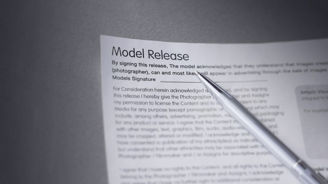 Quick Tip: Keeping model releases organized