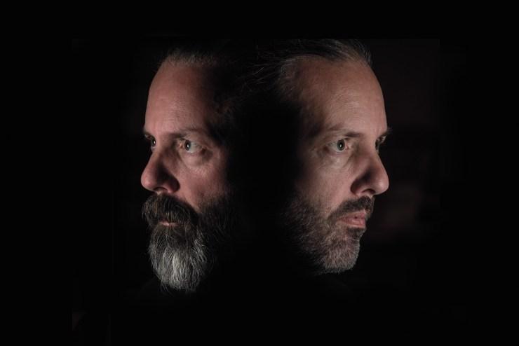 Multiple shot self portrait by Alan Hess