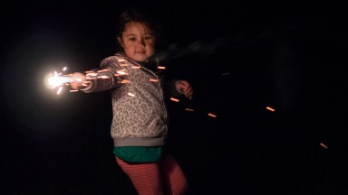 Creating Dynamic Portraits with Sparklers