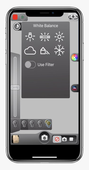 The Luxli Conductor app for iOS and Android controls multiple lights in perfect harmony.