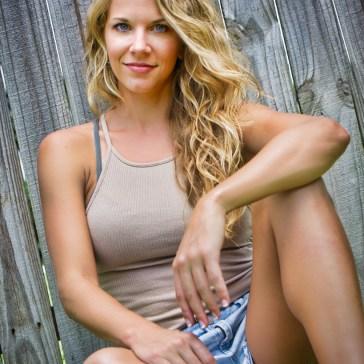 Melbourne Florida based model Natalie Anderson