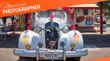 The Traveling Photographer — Route 66 meets Aurora 2019