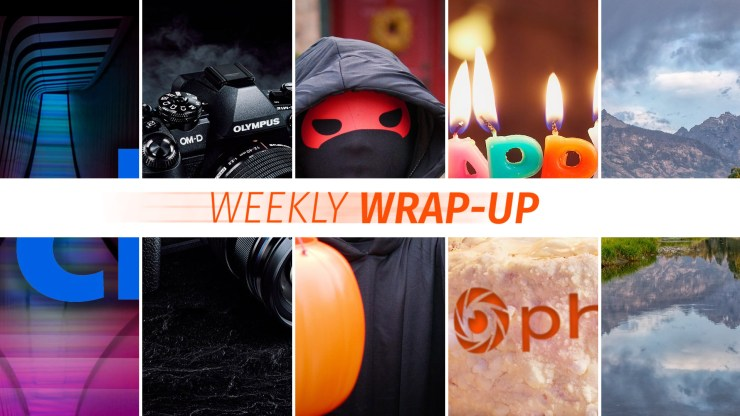 The Weekly Wrap-Up from Photofocus for the week ending 11/02/2018