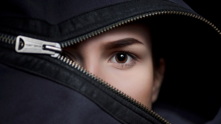 "Photographer of the day honors go to Thomas Salinka with ""Face-Anastasia"""