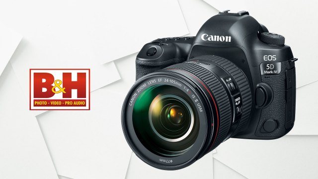 Canon deals at B&H