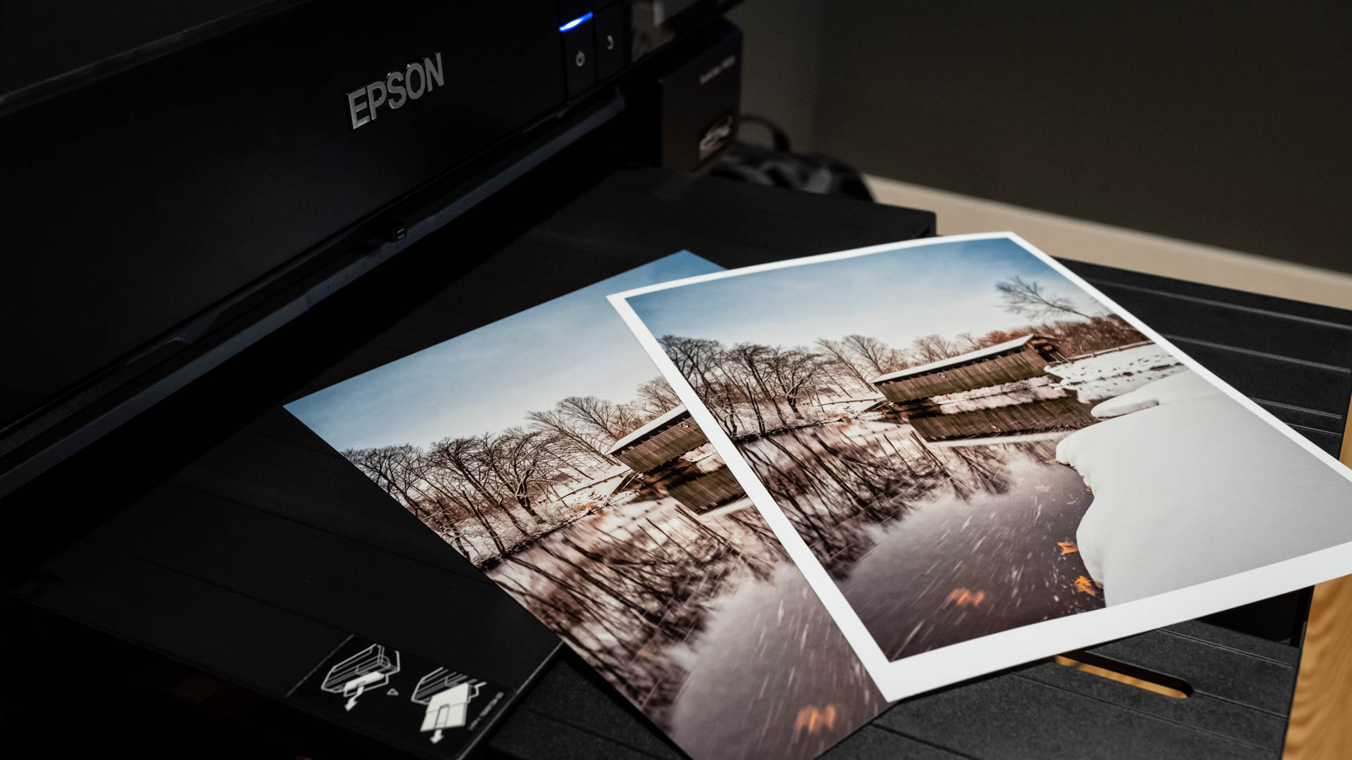 How to print borderless in Lightroom Classic