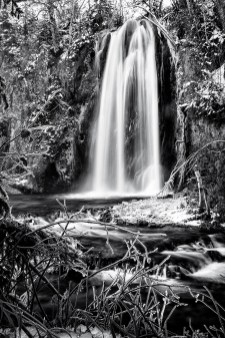 Waterfall, 1.5 seconds