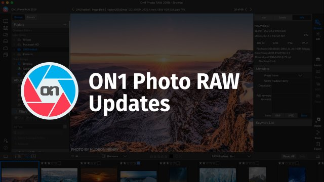 ON1 releases Photo RAW 2019.2
