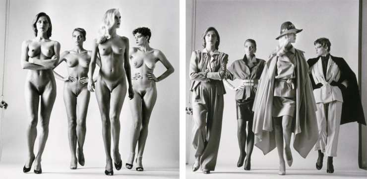 """From """"Big Nudes"""" and """"Sumo"""" by Helmut Newton"""