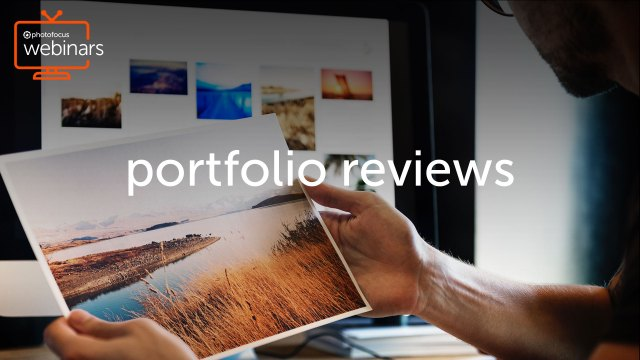 Call for portfolios for live Photofocus webinars