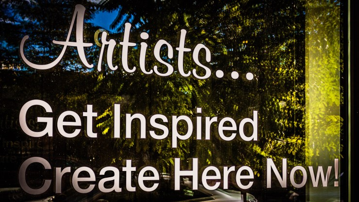 artists get inspired create here