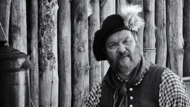 "Photofocus Photographer of the Day Mark Coleman's portrait ""Mountain Man""."
