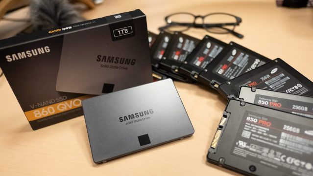 Getting Samsung's 860 QVO solid state hard drive is a no brainer