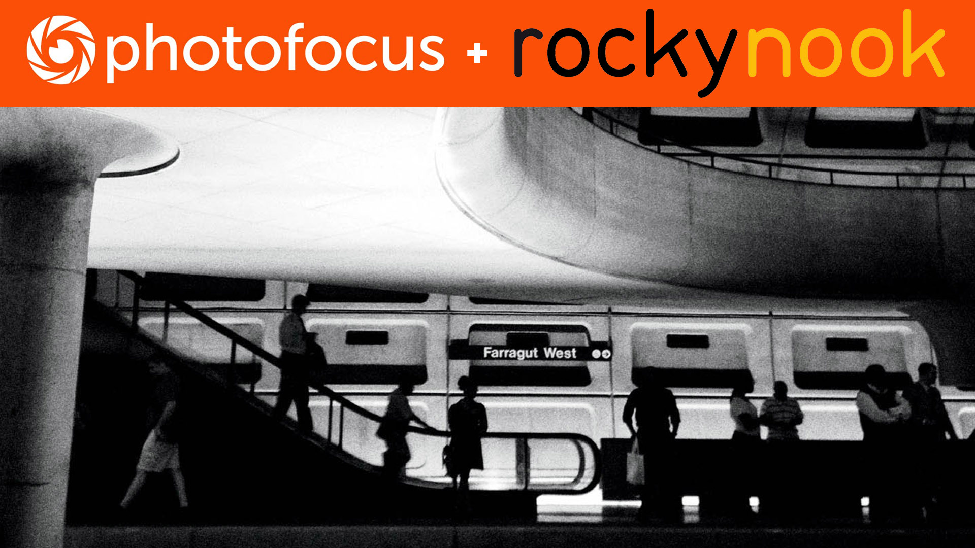 This high-contrast capture of a Washington, D.C., area metro stop adds drama and interest to an otherwise common scene.