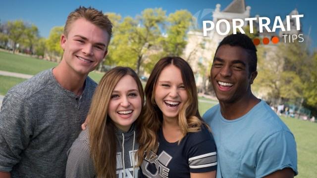 Portrait Tips: One light for life