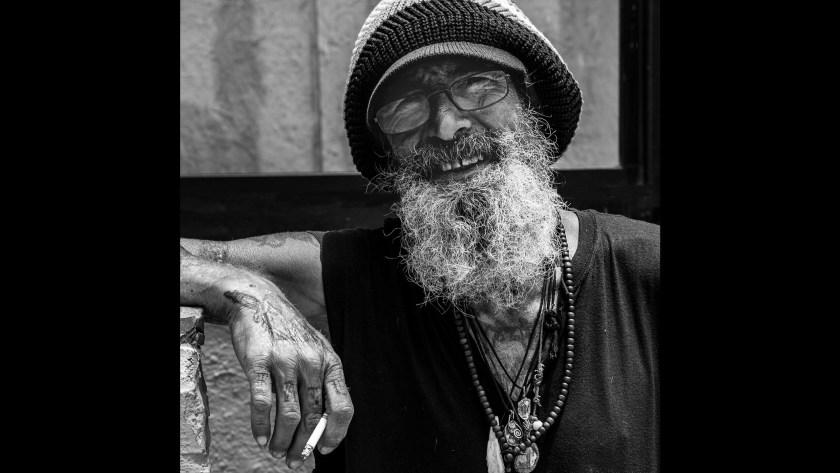 "Michael Hutchinson's ""Venice Beach Artist"" earns him the nod at Photofocus Photographer of the Day for portraits."
