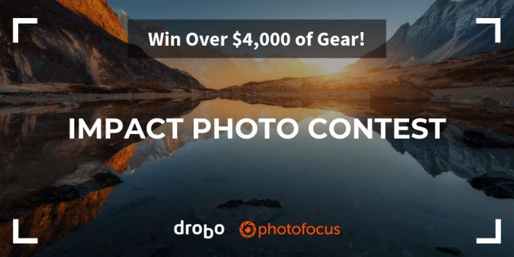 Enter the Drobo Photofocus Impact Photo contest.