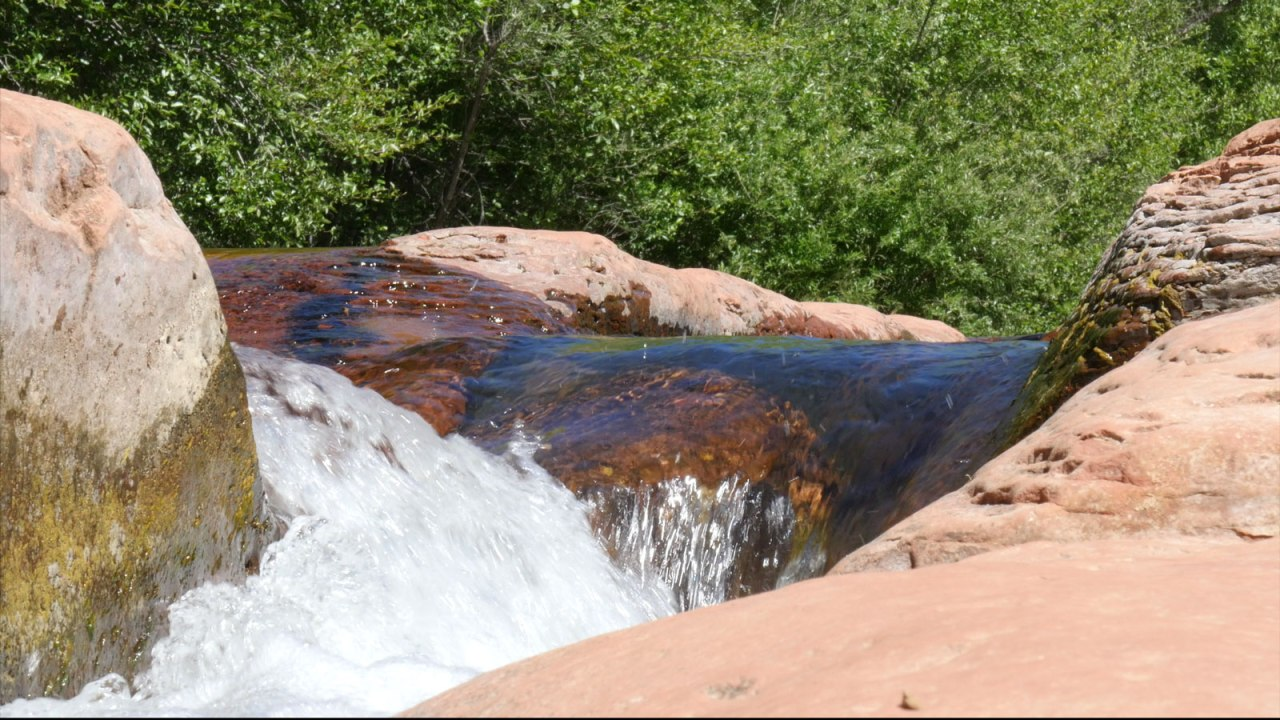 creek flow original image