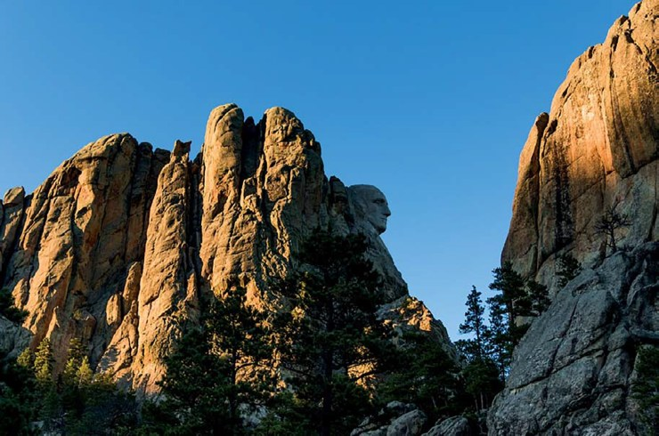 Mount Rushmore, Keystone, South Dakota ISO 160; 1/400 sec.; f/5.0; 35mm